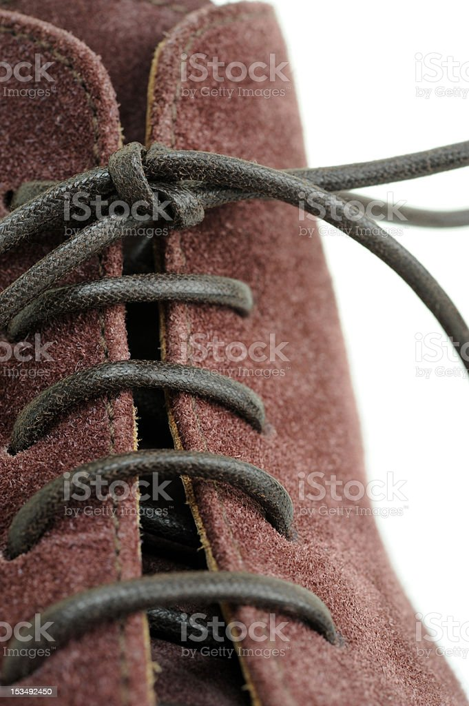shoelace royalty-free stock photo