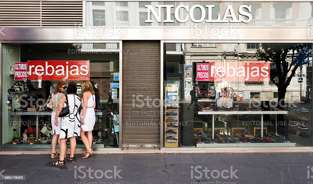 Shoes and Girls stock photo