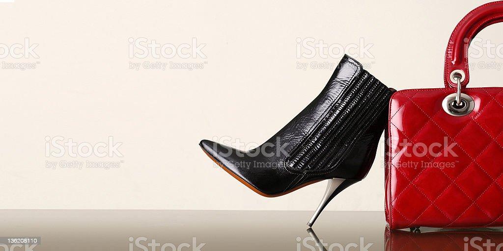 Chaussures et sacs à main photo libre de droits