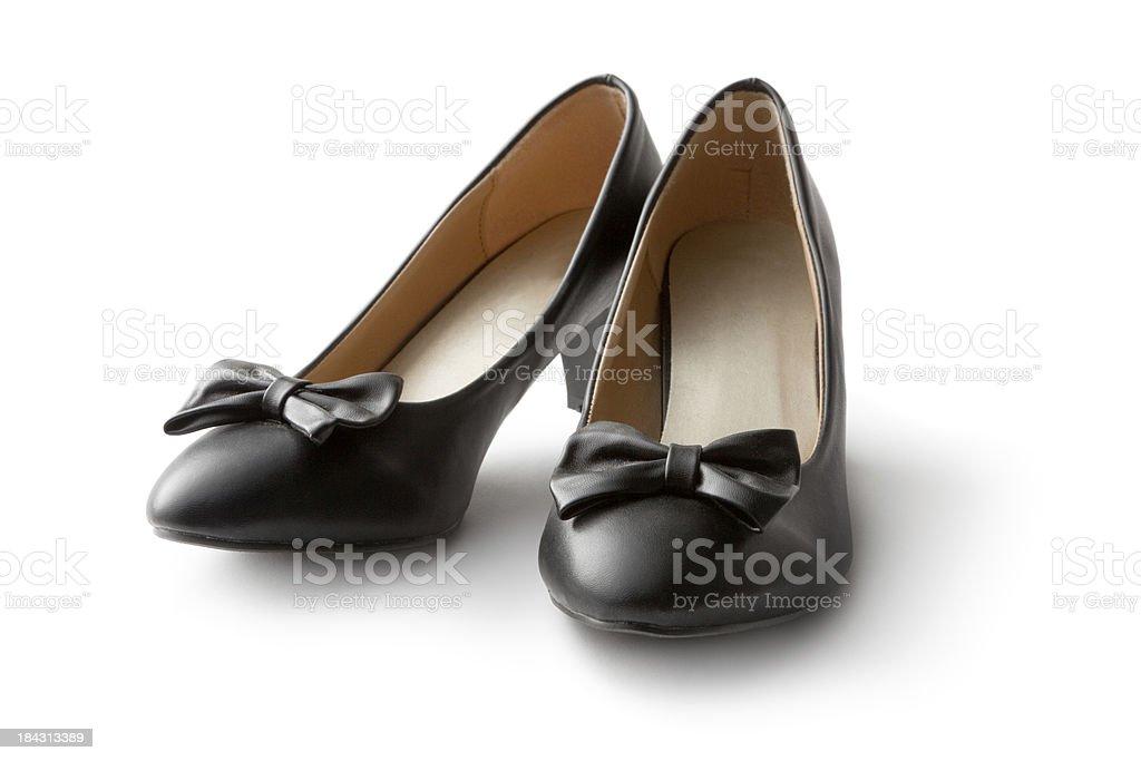 Shoes: Black Shoe stock photo