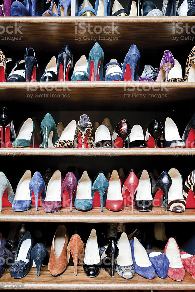 Shoes Collection royalty-free stock photo