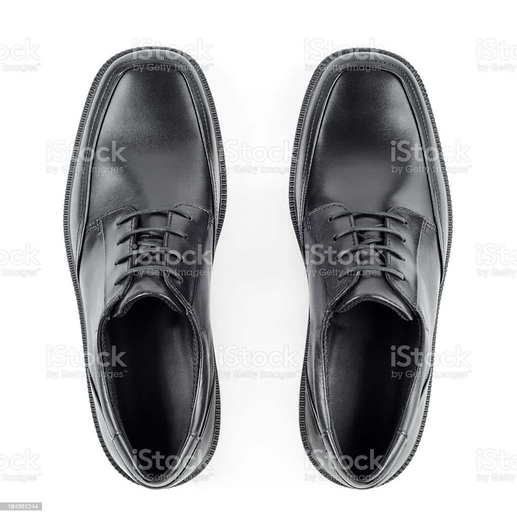 Shoes for daily wear for working men stock photo