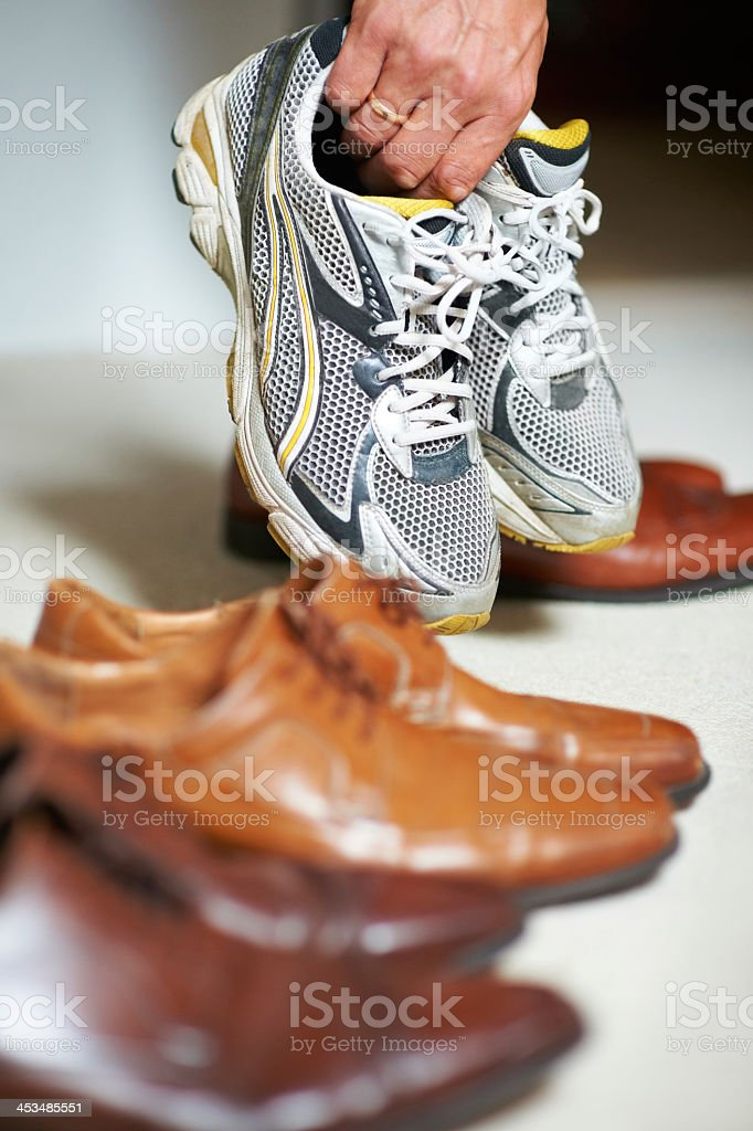 Shoes for every occasion stock photo
