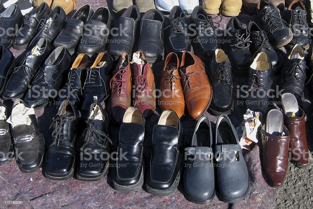 Shoes For Sale royalty-free stock photo