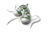 Shoes: Green Baby Shoe