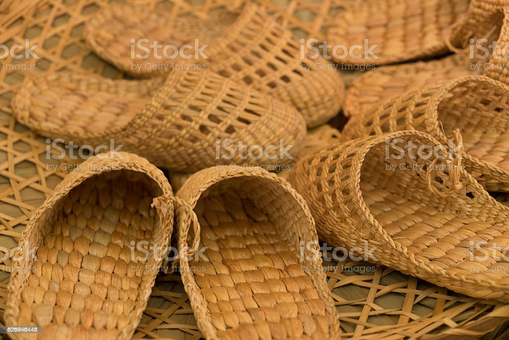Shoes Hyacinth stock photo