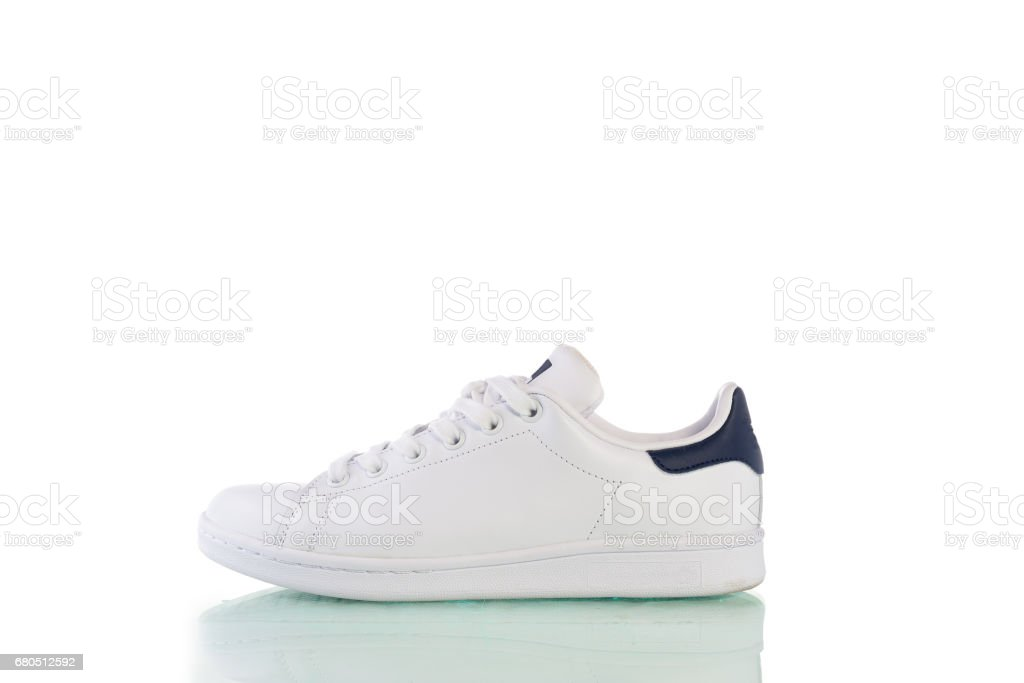 Shoes isolated on the white background with clipping path stock photo