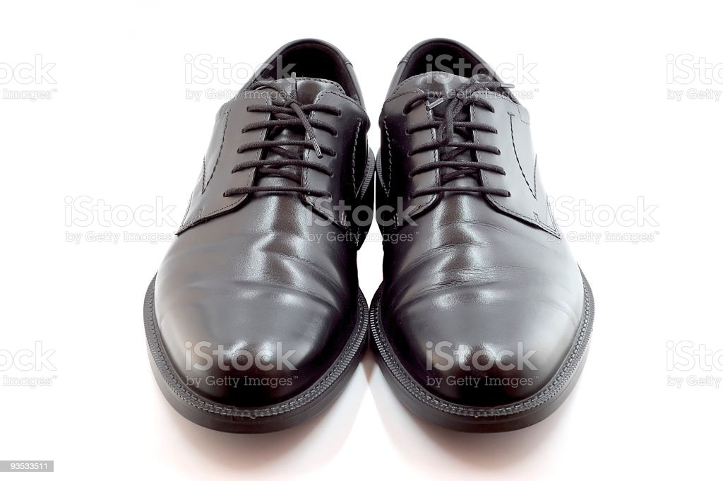 Shoes. isolated stock photo