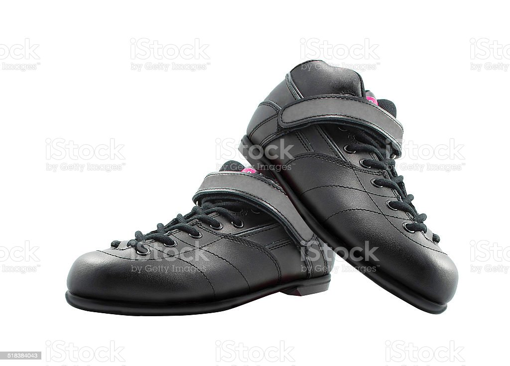 shoes made of leather stock photo