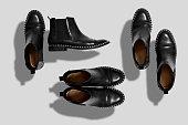 Shoes mockup set