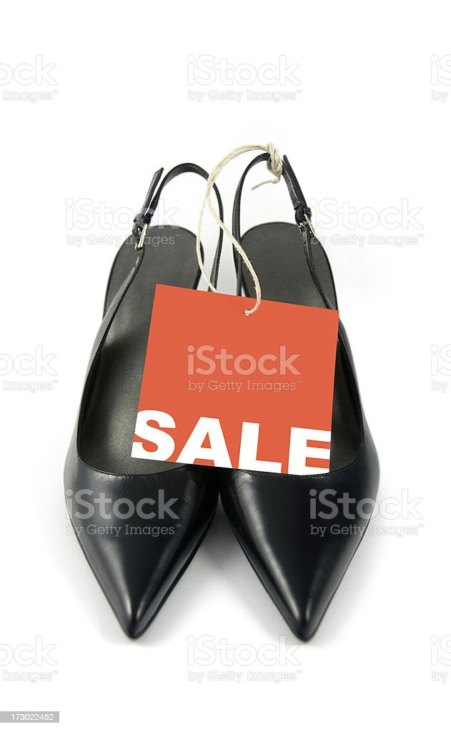 Shoes on sale royalty-free stock photo