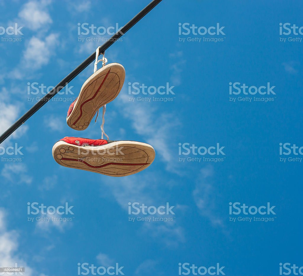 Shoes online stock photo