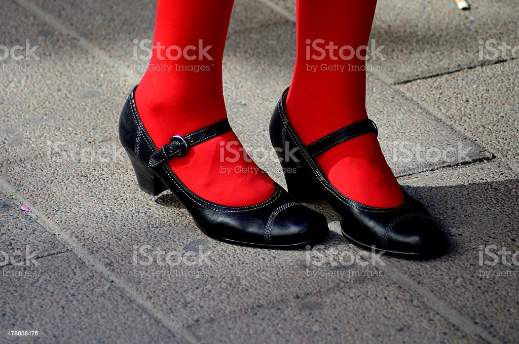 Schuhe stock photo