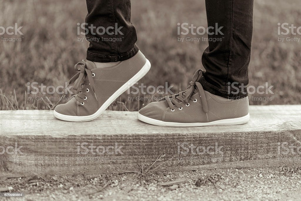 Shoes. stock photo