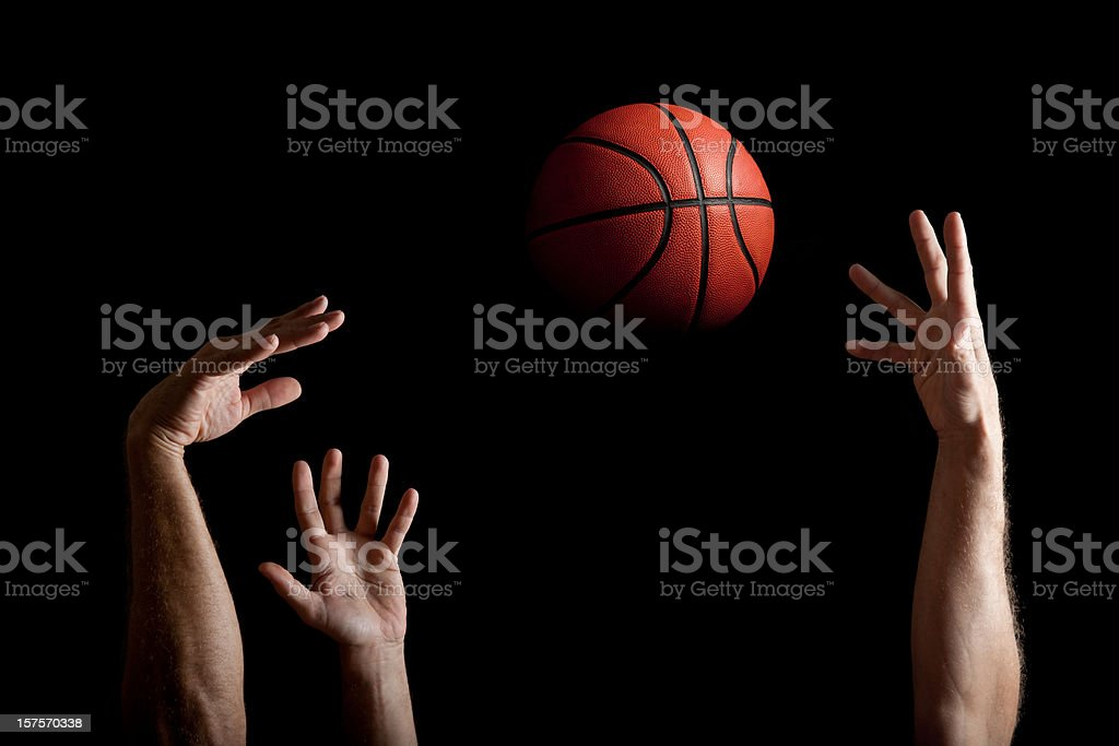 Shoot And Block stock photo
