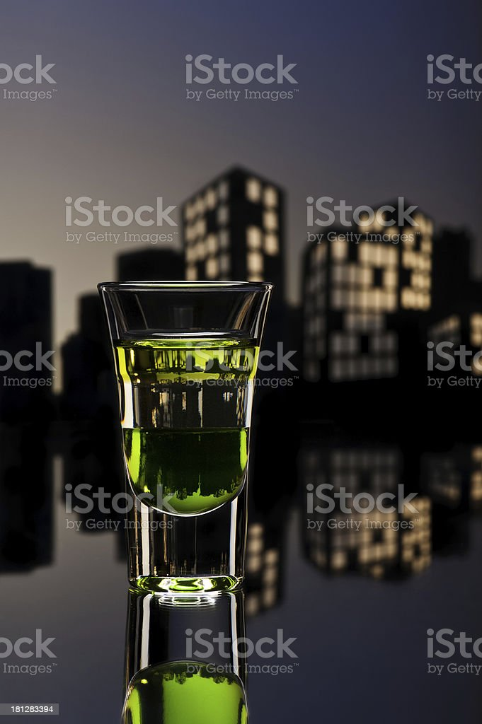 ABC shoot in cityscape setting royalty-free stock photo