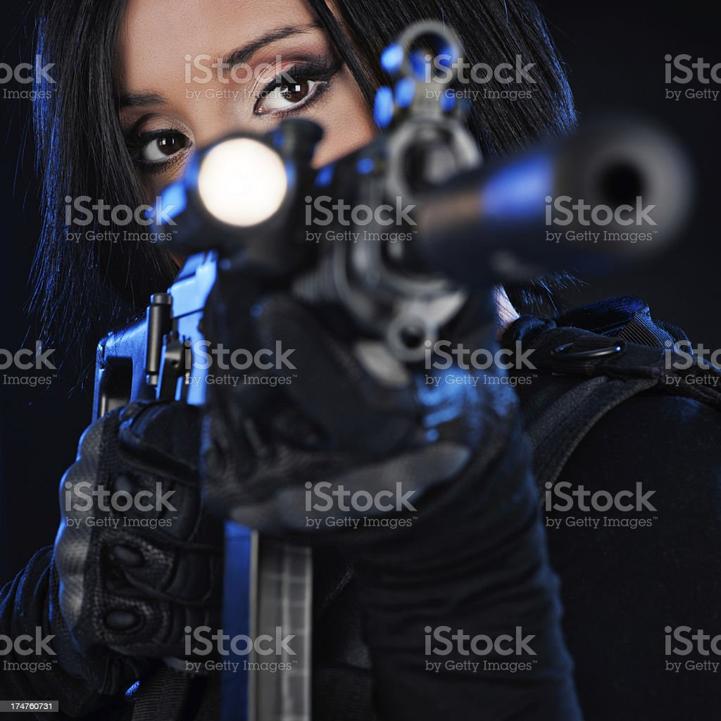 Shoot on sight royalty-free stock photo