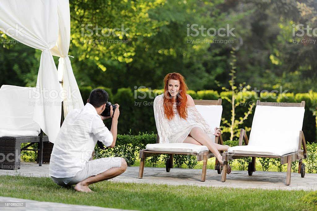 shoot outdoors royalty-free stock photo