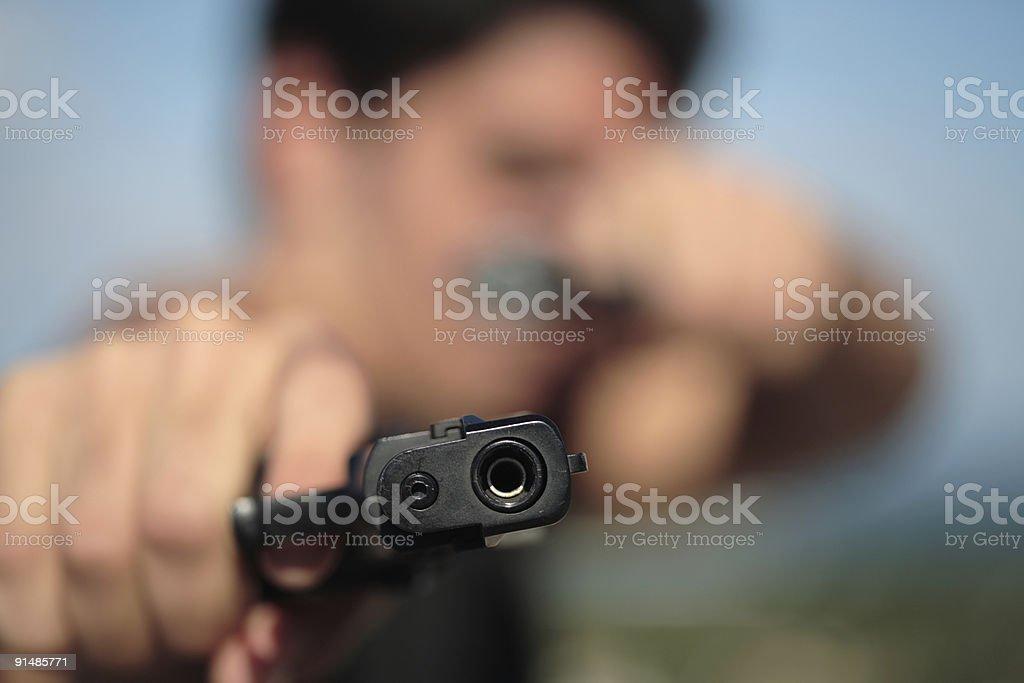 Shooter royalty-free stock photo