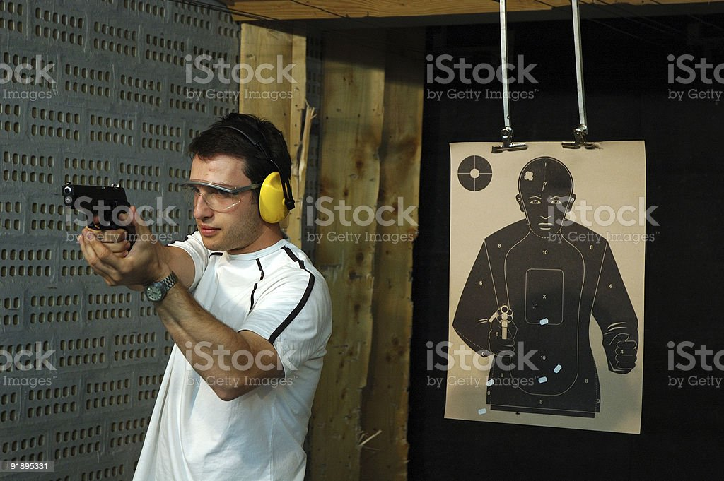 Shooter royalty-free stock photo