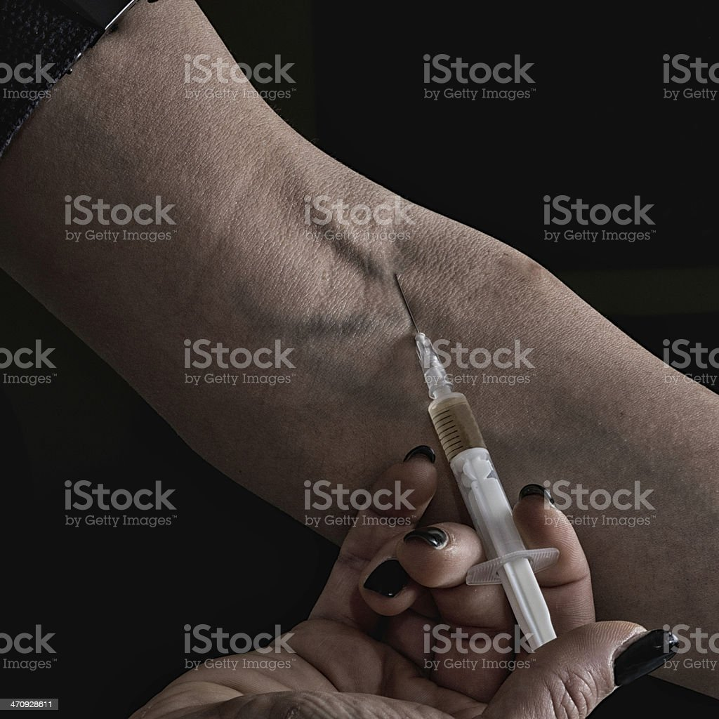 Shooting dope royalty-free stock photo