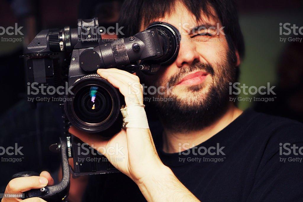 Shooting Film stock photo