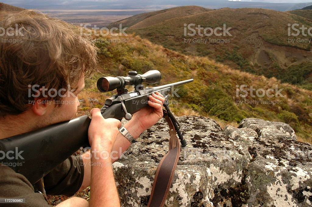 shooting royalty-free stock photo