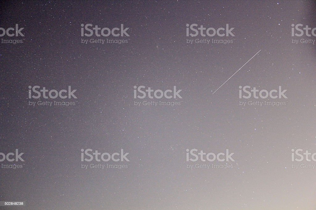 Shooting Star stock photo