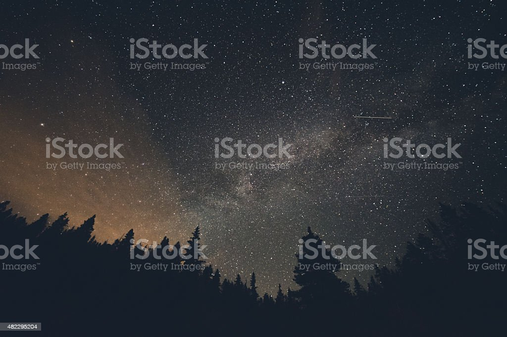 Shooting Stars stock photo