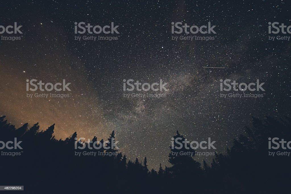 Shooting Stars stock photo