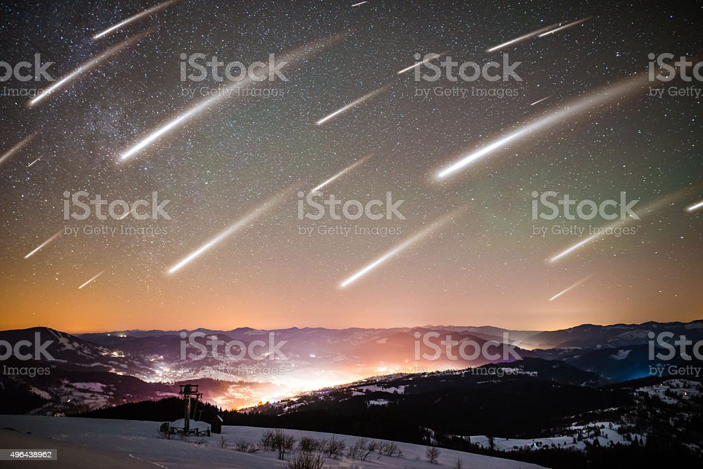 View in Carpathian Mountains, winter landscapes series.