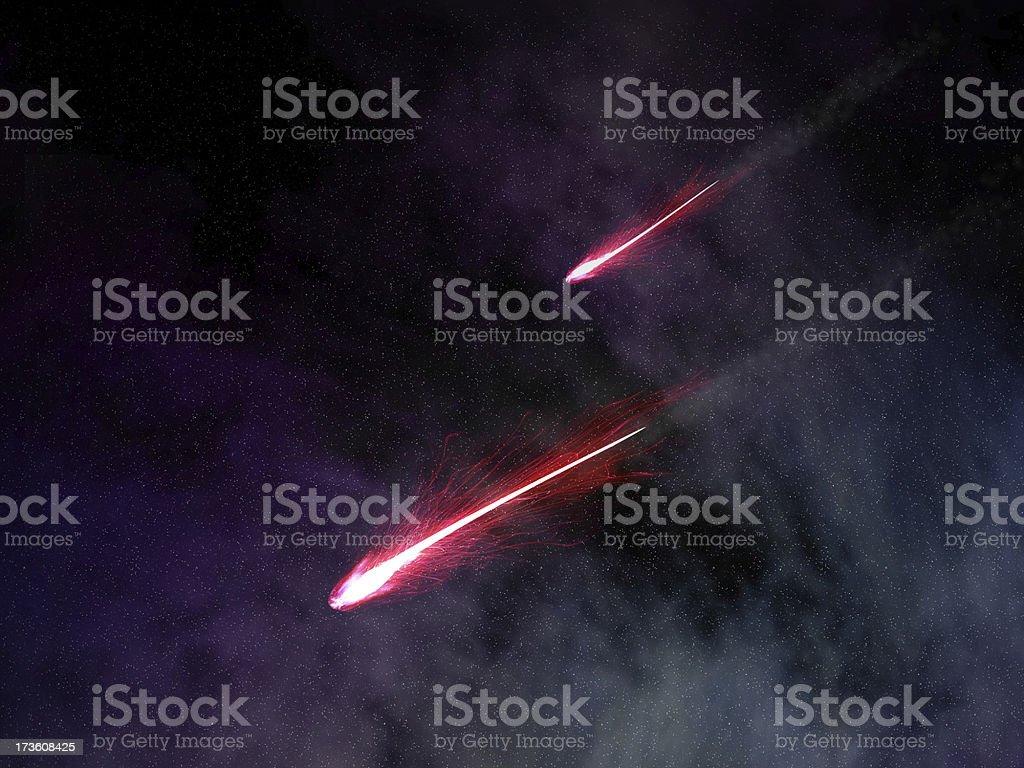 Shooting Stars XXL stock photo