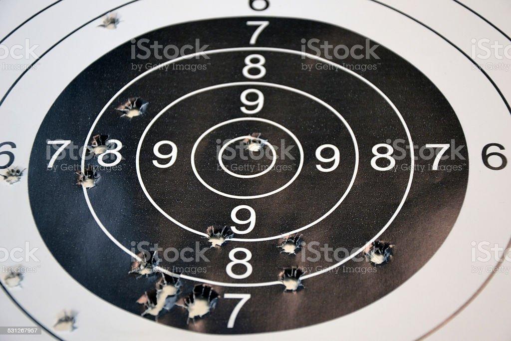 Shooting Target stock photo