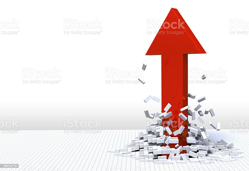 Shooting Up royalty-free stock photo