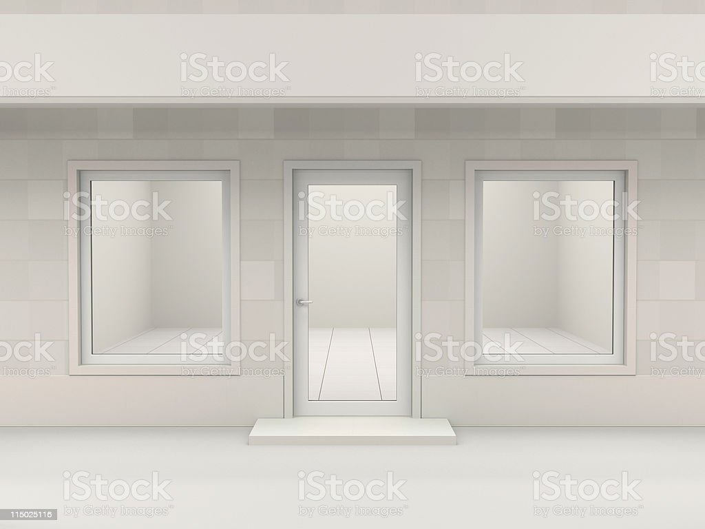 Shop facade stock photo