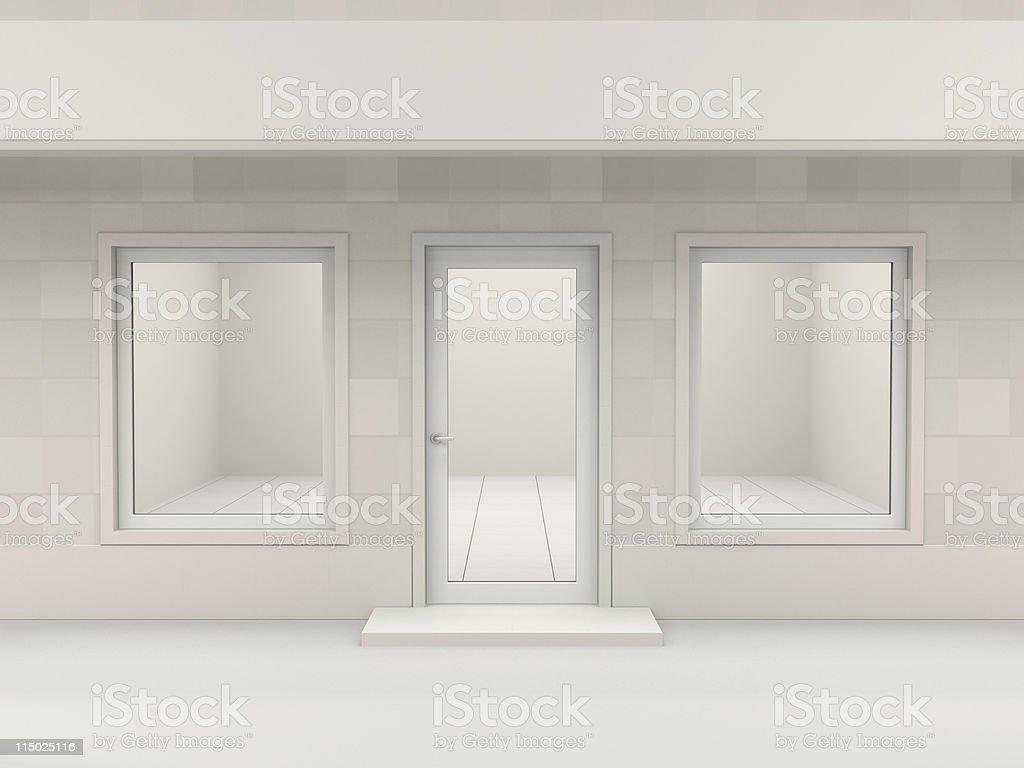 Shop facade stock photo
