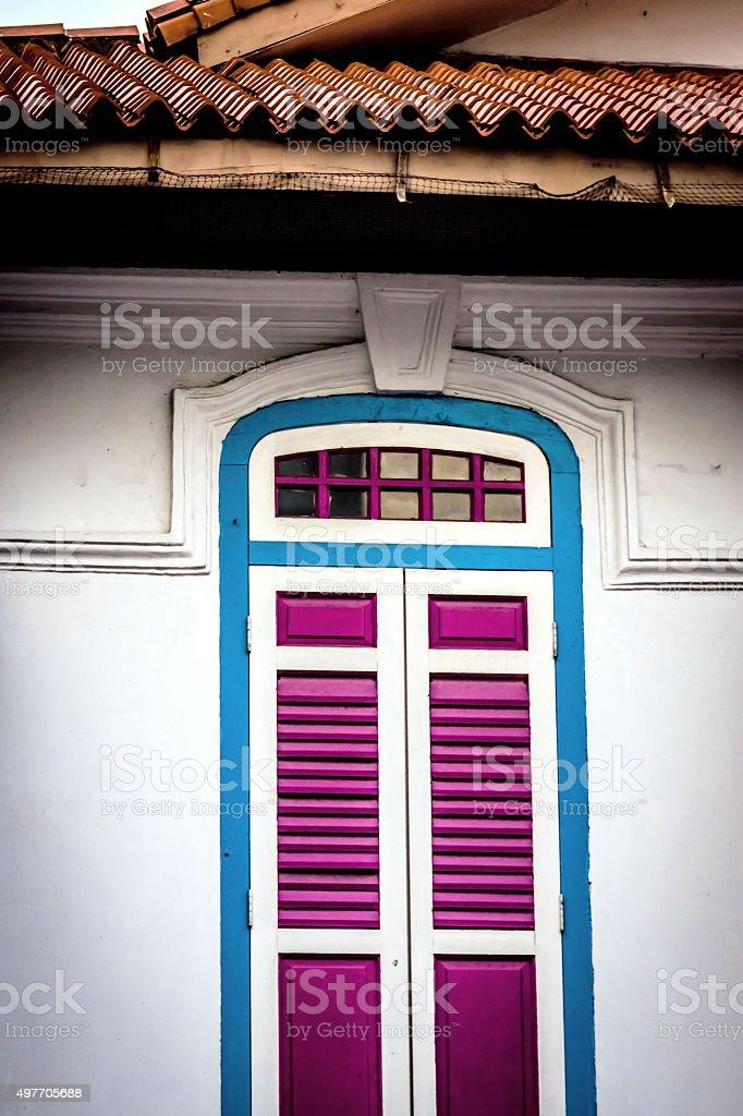 Shop house stock photo