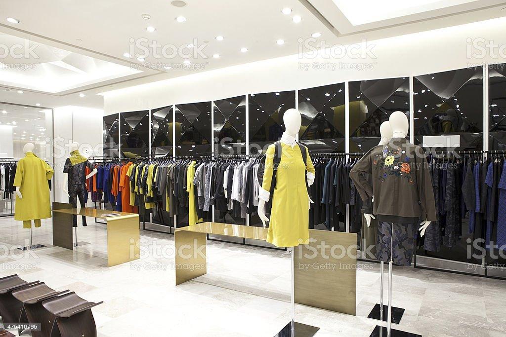 Shop interior stock photo