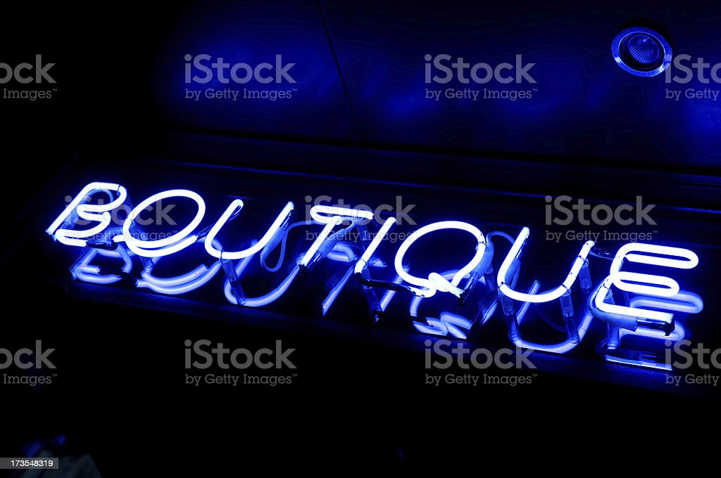 Boutique royalty-free stock photo