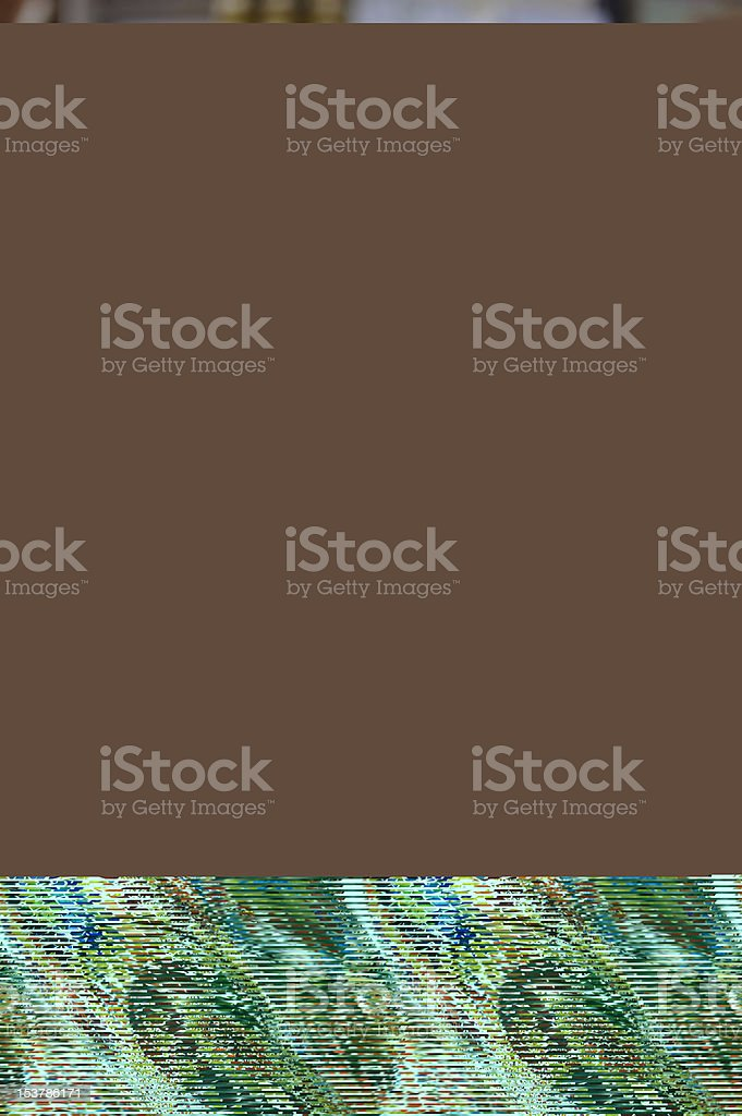 Shop stands with Turkish souvenirs royalty-free stock photo