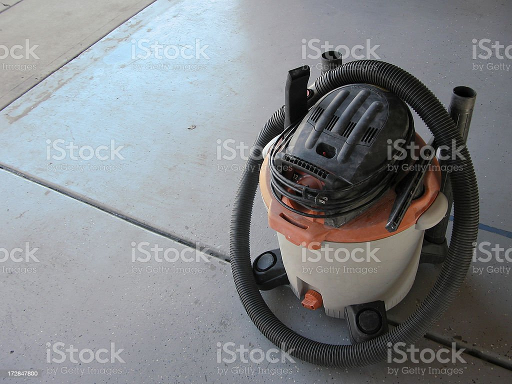Shop Vac stock photo