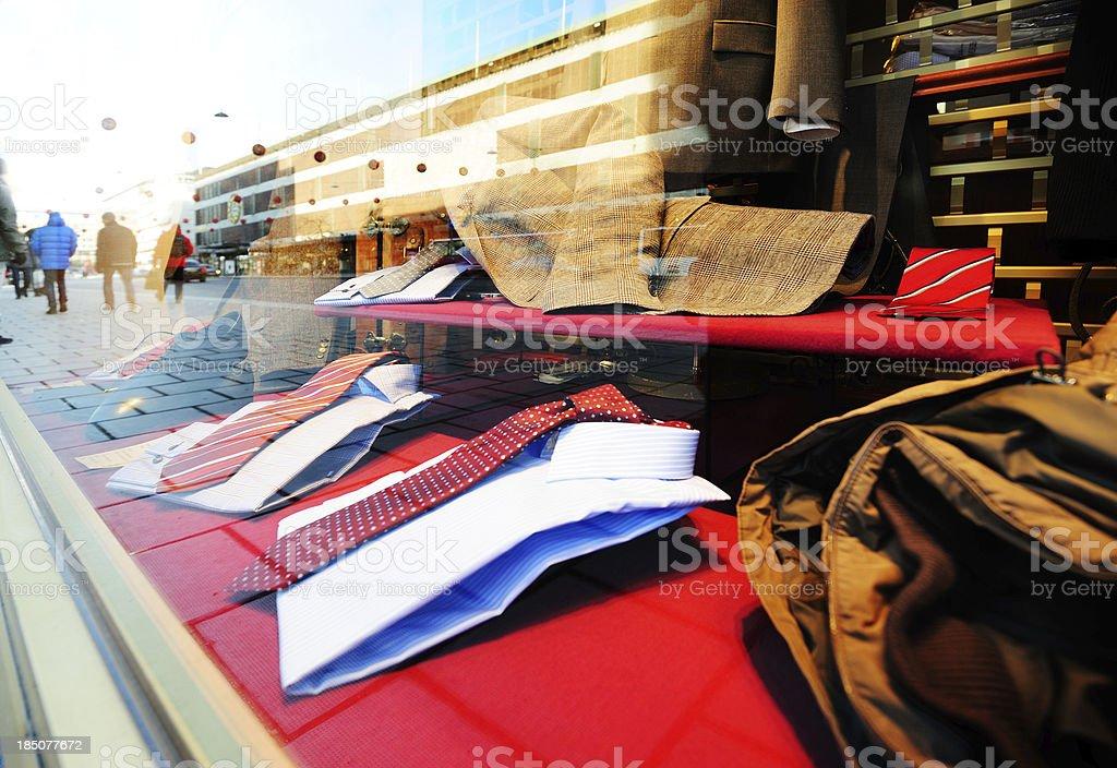 Shop window royalty-free stock photo