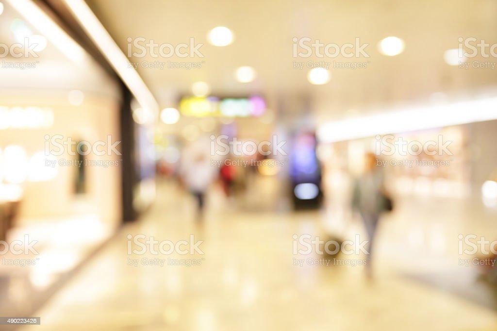 Shop windows stock photo