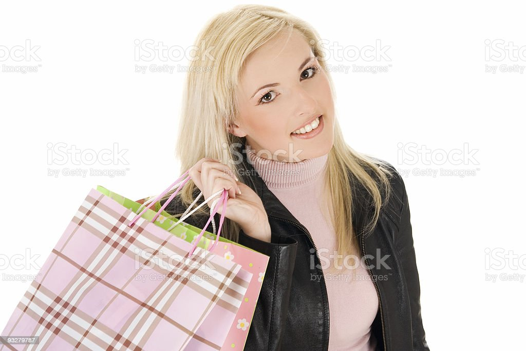 shopaholic! royalty-free stock photo