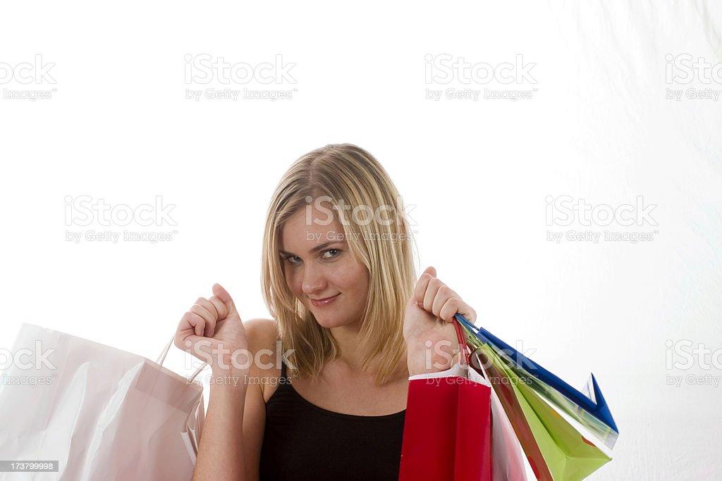 Shopping 3 royalty-free stock photo