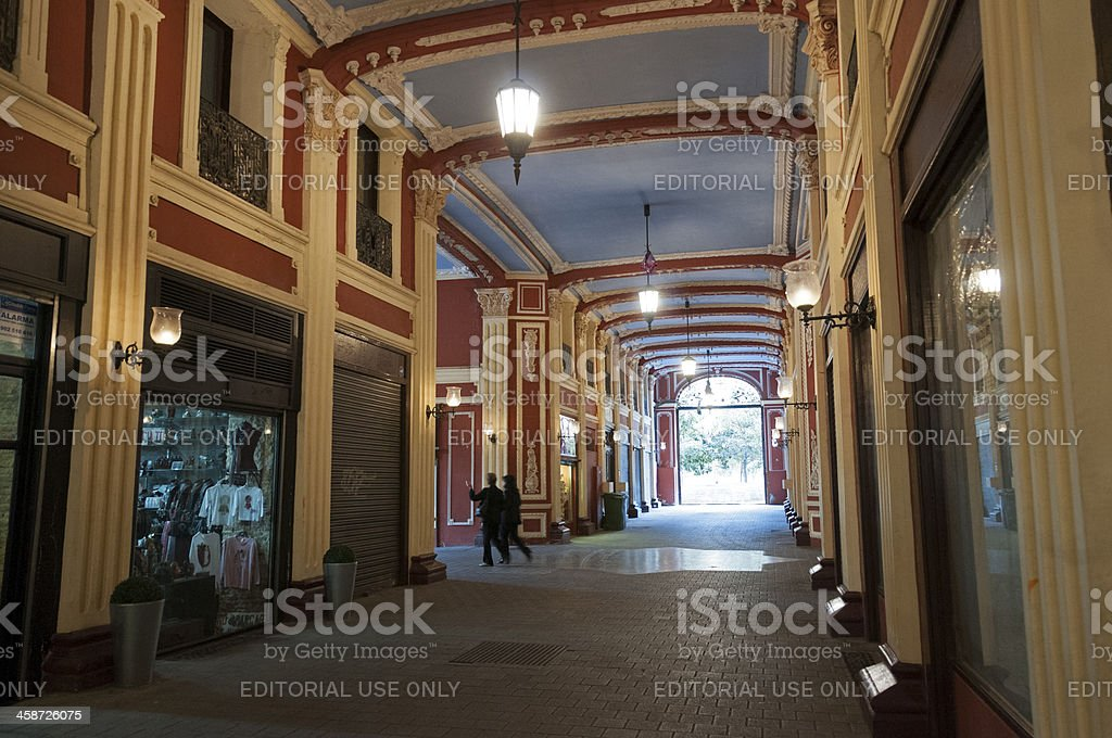 Shopping Arcade royalty-free stock photo