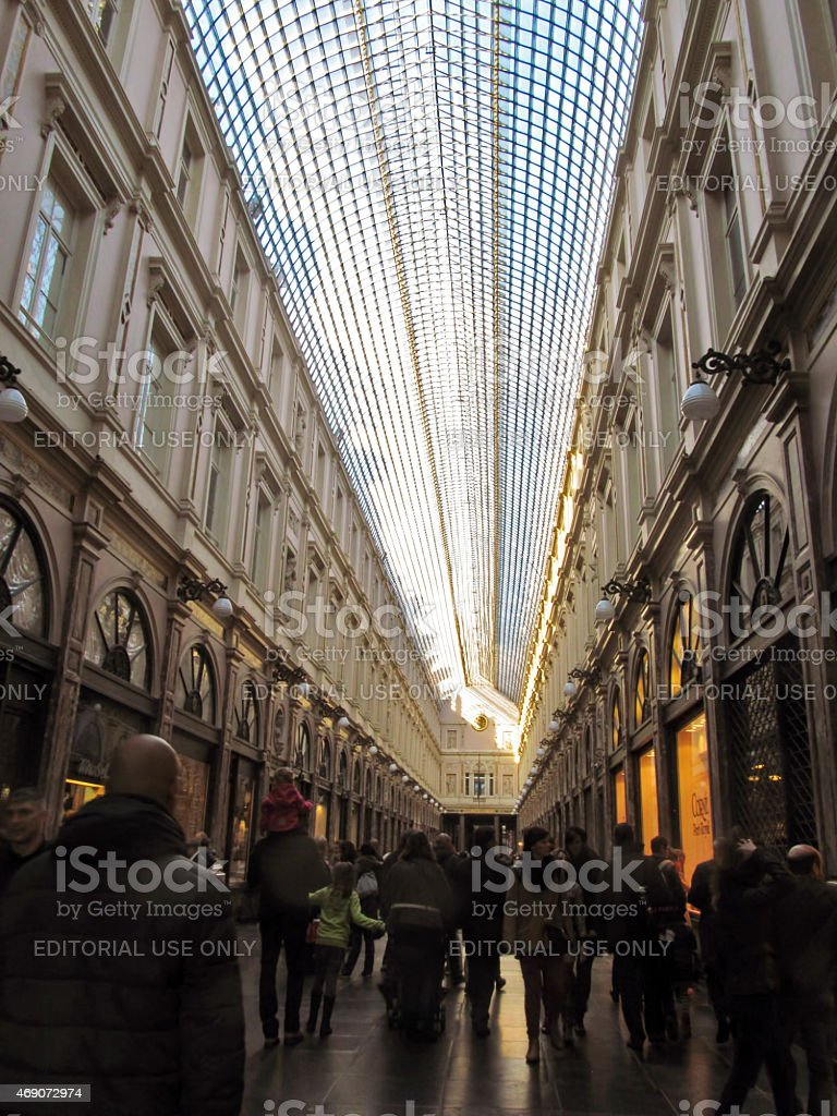 Shopping Arcade stock photo