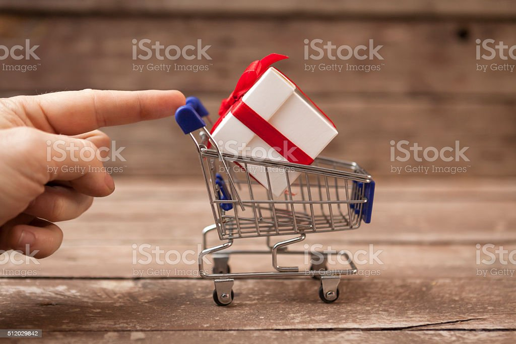 Shopping Assistance stock photo