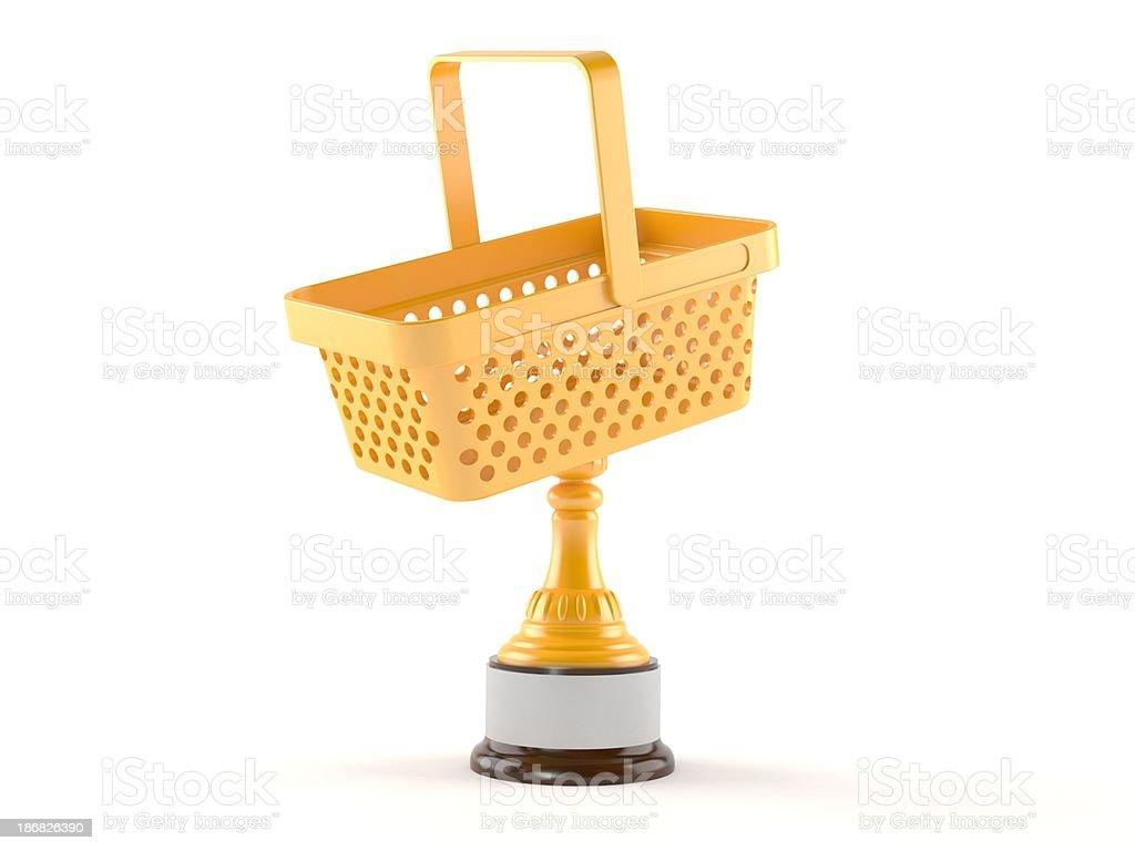 Shopping award royalty-free stock photo
