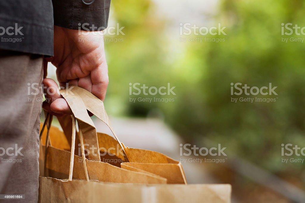 shopping background stock photo